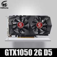 Carte graphique GTX1050 GPU carte graphique 2G DDR5 carte minière de jeu Instantkill GTX950, GTX750, GTX650 pour jeux nvidia Geforce Gtx