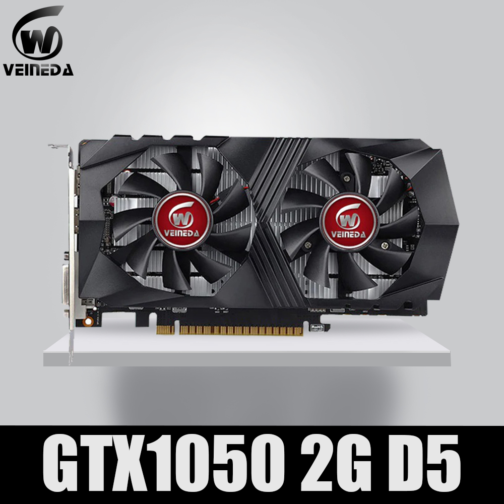 Video Card GTX1050 GPU Graphic Card 2G DDR5 Gaming Mining Card Instantkill GTX950 ,GTX750 ,GTX650 For nvidia Geforce Gtx games image