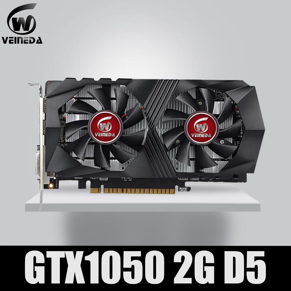 Placa de Vídeo Gtx650 para Jogos de Nvidia Placa Gráfica Ddr5 Gaming Mining Card Instantkill Gtx950 Gtx750 Geforce Gtx Gtx1050 Gpu 2g