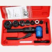 TPA-8 Chapa De Metal Manual de Aço Inoxidável Abridor Hidráulico Portátil Pressão Hidráulica Furador 6 Toneladas de Perfuração Tool Kit Set