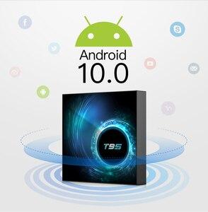 Image 2 - Новый Android 10,0 T95 Smart TV Box 4 ГБ 32 ГБ 64 Гб Allwinner H616 четырехъядерный 1080P H.265 4K медиаплеер 2 Гб 16 Гб телеприставка