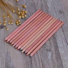 12 шт. профессиональные мягкие пастельные карандаши Дерево оттенок кожи пастельные цветные карандаши M5TB
