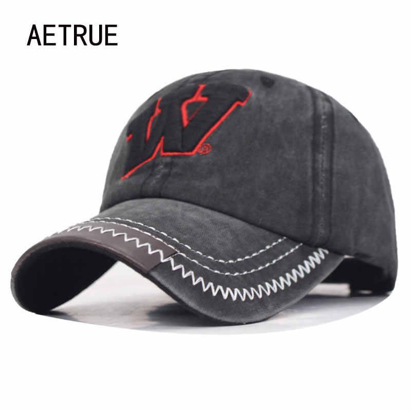 Marka Bone mężczyźni czapka z daszkiem kobiety czapki z daszkiem czapki dla mężczyzn Trucker mężczyzna Vintage haft W Casquette tata czapka bejsbolówka Cap