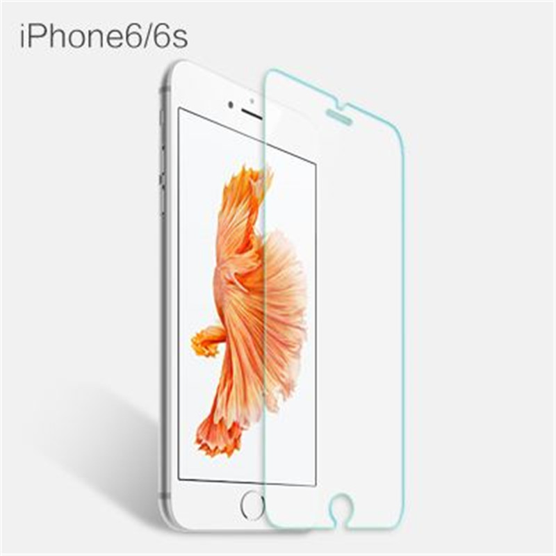 4.7 Inches Premium Real Tempered Glass Screen Protector Case HD Permeability Cover Film Screen Guard