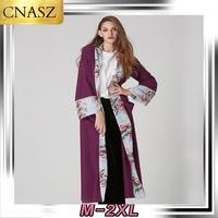2019 New Muslim Abaya Robes Islamic Turkey Chiffon Print Fashion Pearl Cardigan Dress Dubai Moroccan Kaftan Abayas For Women
