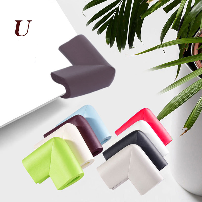 4pcs Baby Safety Corner Protector Children Protection Furniture Corners Angle Protection Child Table Corner Protector Angle Form