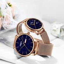 NIBOSI, парные часы, Relogio Feminino, водонепроницаемые, мужские и женские часы,, Роскошные, брендовые, элегантные, женские часы из нержавеющей стали