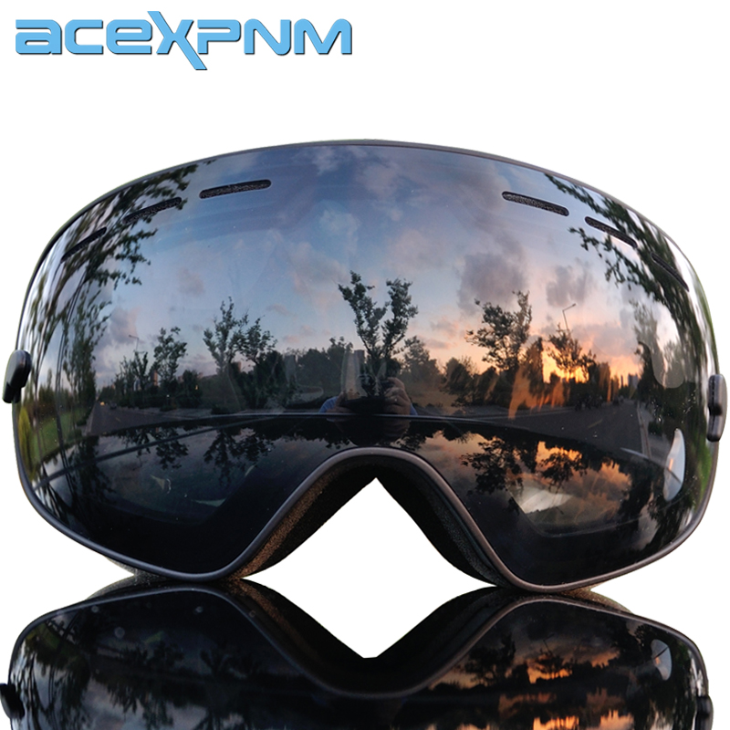 2019 Brand Ski Goggles Men Women Snowboard Glasses For Skiing UV400 Anti-fog Ski Mask Snow Skiing Glasses Eyewear Snowmobile