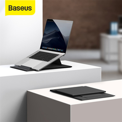 Baseus Laptop Stand Folding Computer Holder Ultra High Laptop Holder For Notebook Macbook Pro Air iPad Pro DELL HP Laptop Stand