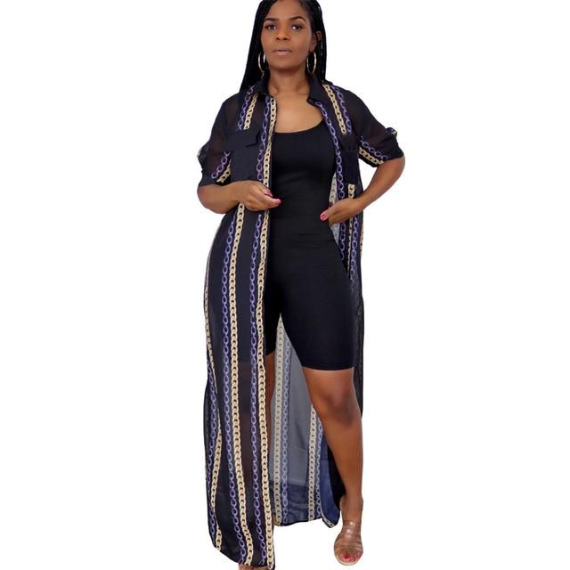 Summer Plus Size Mesh Shirt Maxi Dress For Women Casual See Through Short Sleeve Loose Long Shirt Dresses Women 6