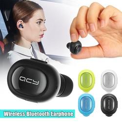 Q26 Mini  Earphones Headphones Mono Small Stereo Earbuds Handsfree Business Earphone with MIC