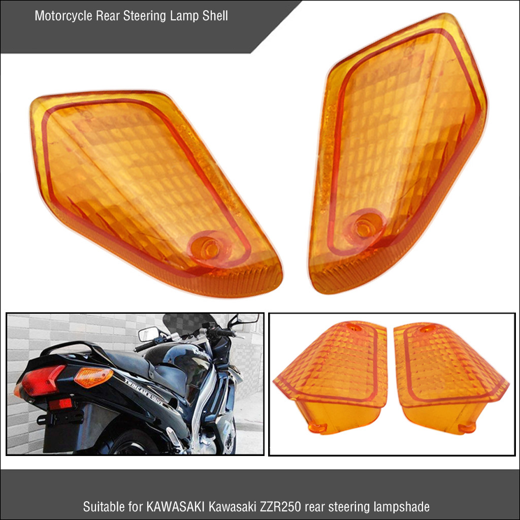 1 Pair For Kawasaki ZZR250 ZX10 Rear Indicator Blinker ZZR ZX 250 Left Right Tail Light