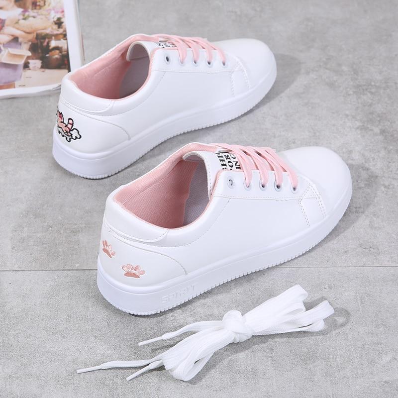 Tenis Feminino Zapatos Mujer 2019 Newest Women Tennis Shoes Sport Shoes Tenis Blancos Walking Flat Sneakers Tenis Plataforma 7
