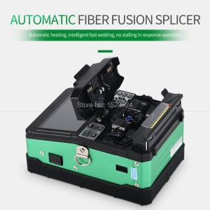 Image 2 - A 81S Green Automatic Fusion Splicer Machine Fiber Optic Fusion Splicer Fiber Optic Splicing Machine