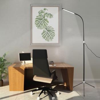 Lampa LED podłogowa USB Plug-in prosty statyw pionowa Sofa do salonu biurko sypialnia nocna lampa podłogowa 5V 2A nowoczesna lampa podłogowa tanie i dobre opinie DREAM MASTER Nowoczesne Żarówki led Malowane Triangular bracket 36 v 3years Metrów 5-10square 6-10 w T--1058 Dół Badania