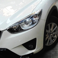 Abs Chrome Voor Mazda CX-5 CX5 2013 2014 2015 2016 Accessoires Auto Front Light Koplamp Koplampen Frame Cover Trim auto Styling