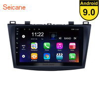 Seicane 9 inch Android 9.0 Car GPS for 2009 2010 2011 2012 MAZDA 3 Navigation Radio Stereo Unit Player support DVR OBD 3G
