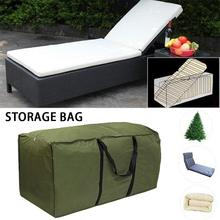 Outdoor Furniture Cushion Big Storage Bag Christmas Tree WaterProof Organizer Home MultiFunction Large Capacity Container