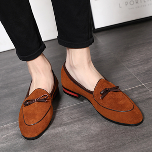 Image 5 - 37 48 men loafers moccasins Breathable Brand classic Plus Size fashion Comfortable elegant luxury casual shoes men #7719