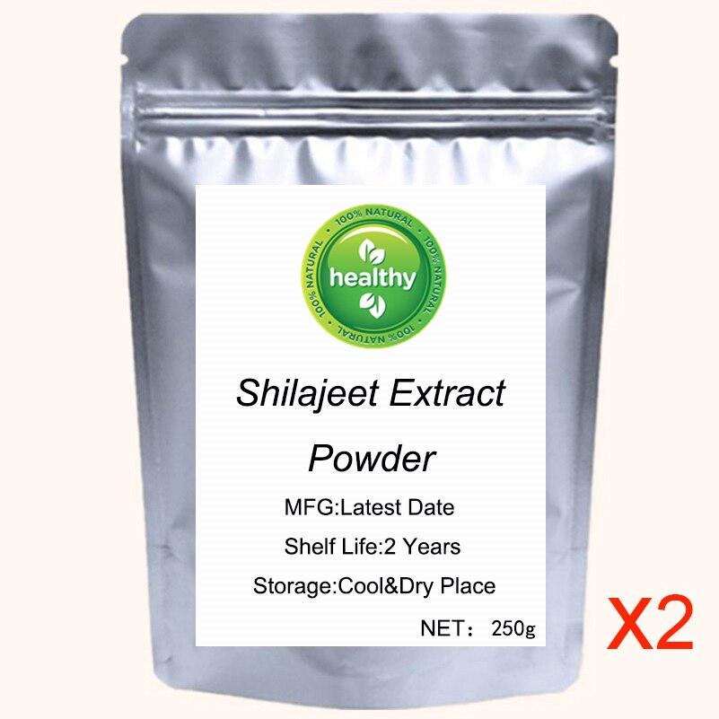 Xilaizhi Extract (Shilajit Extract)Shilajeet Extract 50% Fulvic Acid Pure Ashphaltrum Powder 500-1000g
