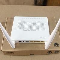 Free Shipping 20pcs Huawei EG8141A5 GPON ONU ONT FTTH HGU Wifi Router Modem 5dBi English Firmware, with Power Adapter, No box