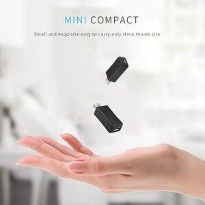 Image 5 - 5 adet mikro USB dişi Mini USB erkek adaptör konnektör dönüştürücü adaptör için son PC telefon kılıfı kabloları