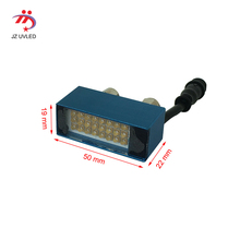 395nm UV gel curing small lamps for Epson R1390 L1800 L1300 Modified UV flatbed printer DX5 head Ultraviolet light ink cure lamp new improved universal led uv black ink for epson uv flatbed printer