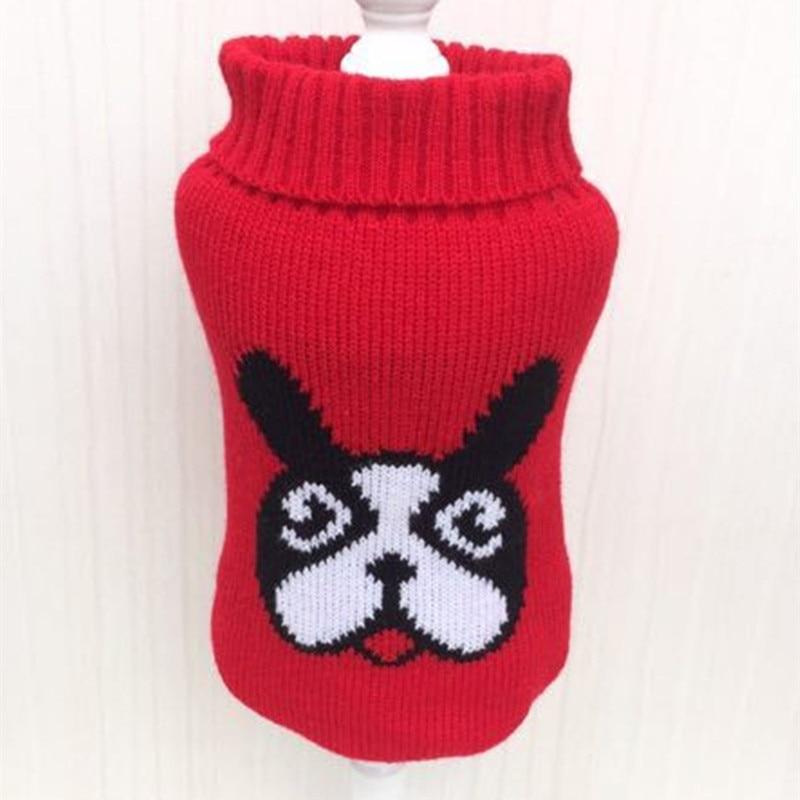 Свитер для кошек, собак, чашек, пуделей, собачек, щенков, костюм, чихуахуа, Йоркская одежда, одежда для маленьких собак, одежда для домашних животных, одежда для собак, пальто - Цвет: Красный