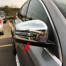 2X Rear View Rearview Side Mirror Cover For Mercedes W166 C292 X166 GLE Wagon Coupe GL Class Chrome Accessories