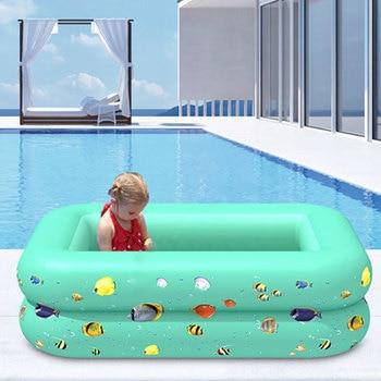 Children Multi-layer Bathing Tub Baby Home Paddling Pool Inflatable Summer Swimming Kids Ocean Ball