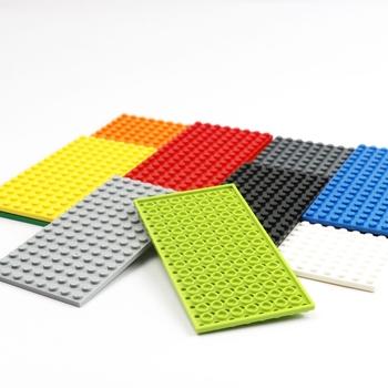 30 sztuk 8 #215 16 płyta bloki 92438 cegły budowlane części płyta podstawowa 8 #215 16 punktów DIY zabawki dla chłopców dziewcząt prezenty urodzinowe dla dzieci tanie i dobre opinie Unisex 6 lat Mały klocek do budowania (kompatybilny z Lego) Certyfikat Plate 8x16 BLOCKS Not to eat Z tworzywa sztucznego