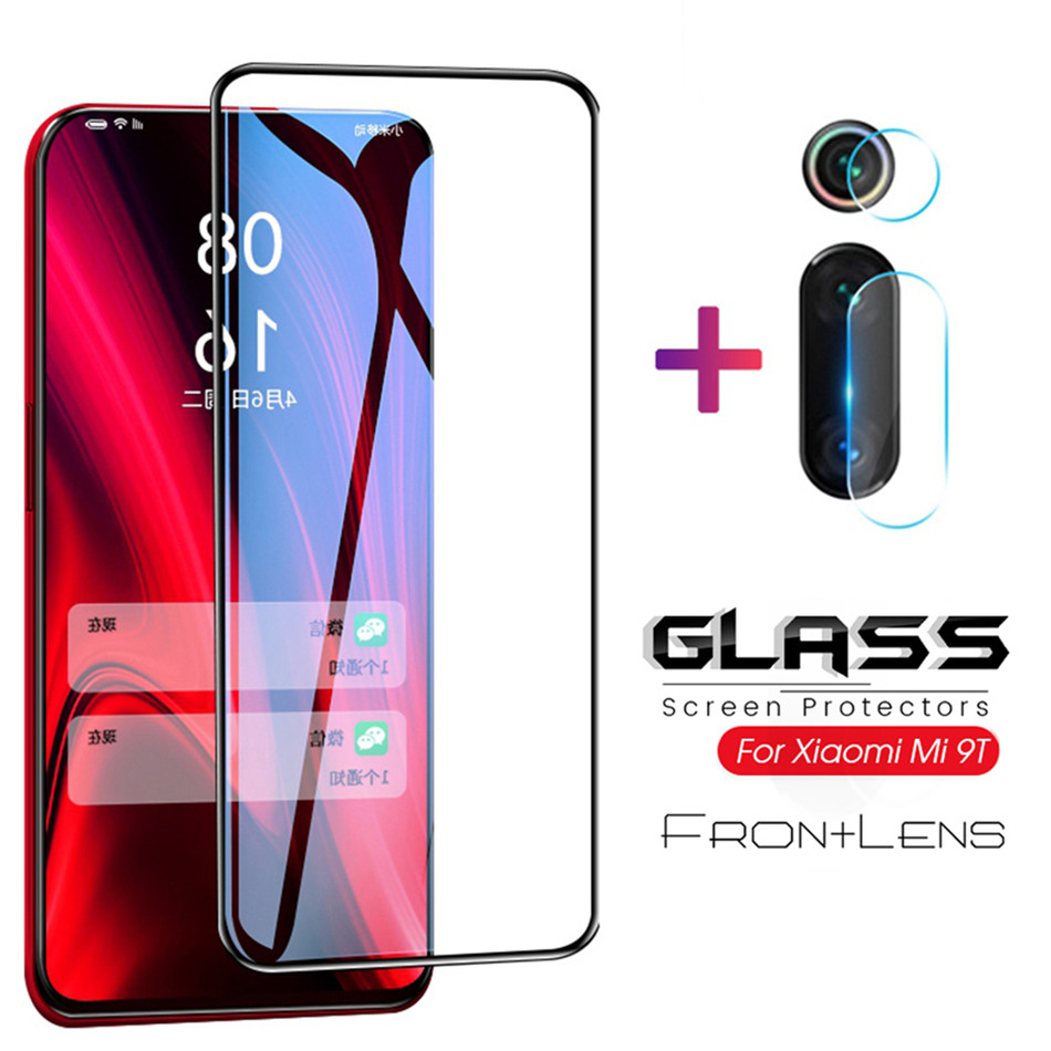 2in1 protective glass for <font><b>Xiaomi</b></font> <font><b>Mi</b></font> <font><b>9T</b></font> Pro 9 Lite CC9 A3 A2 Redmi Note 7 7A tempered glass <font><b>Camera</b></font> lens screen <font><b>protector</b></font> film image