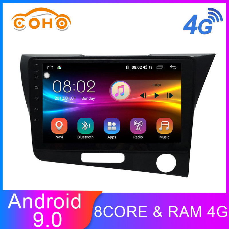 Cr-Z/Crz Android 9.0 Octa Core 4+64G Central Multimidia Video 1 Din Android Car Radio For Honda Cr-Z/Crz Rhd image