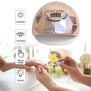 Image 5 - Neue ankunft Bunte 48W SUNONE Professionelle LED UV Nagel Lampe für nagel gel polnisch führte Nagel Licht Nagel Trockner UV Lampe