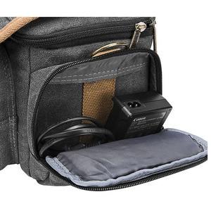 Image 5 - Sling SLR fotografia cyfrowa torba na ramię mężczyźni/kobiety Outdoor TravelWaterproof nylonowa torba typu messenger na obiektyw aparatu