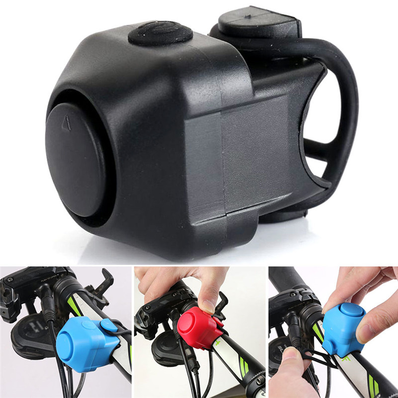 130db Durable Bicycle Bell Warning Safety Bike Handlebar Metal Ring Bell Mini Electric Horn Handle Bar Alarm Cycling Accessory