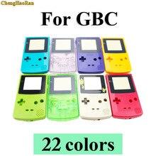 Chenghaorão capa para nintendo game boy, conjunto de peças de reparo para nintendo game boy coloridas gbc