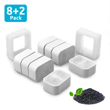 Cat Water Fountain Replaced Activated Carbon Filter For Pet Dogs Drinking Dispenser Cats Automatic Drinker Replacement Filters