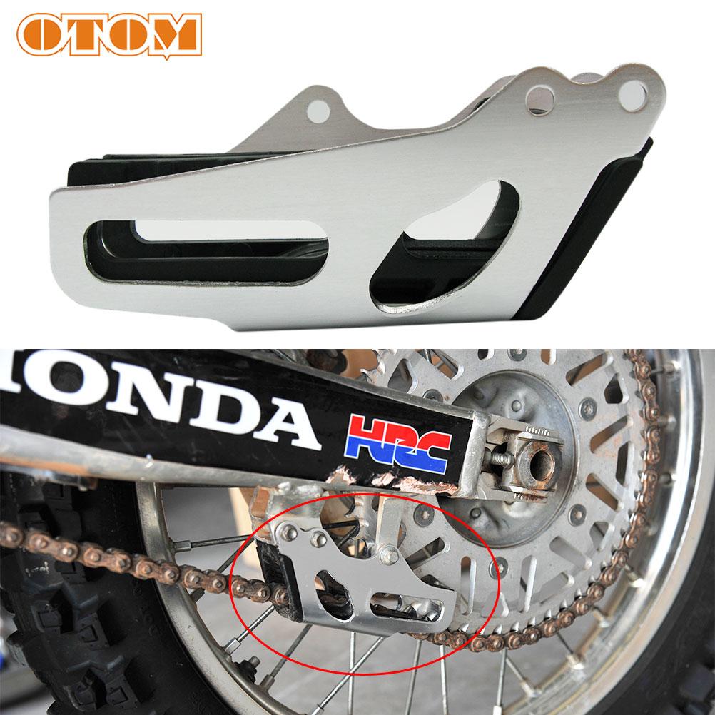 OTOM направляющая цепи мотоцикла, защита от грязи, запчасти для питбайка, мотокросса, направляющие цепи из алюминиевого сплава и внутренний к...