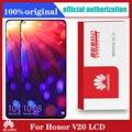 Оригинальный сменный дисплей 6,4 дюйма для Huawei Honor View 20, ЖК-дисплей V20, сенсорный экран с дигитайзером в сборе для Nova 4, ЖК-экран