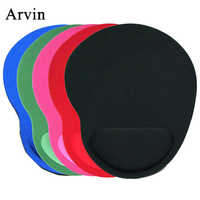 Mouse Pad with Wrist Rest Protect Comfortable Gaming Mice Mat Mousepad 5 Colors