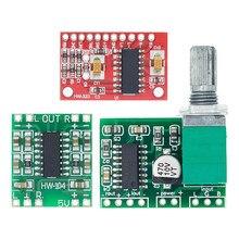 1 Uds PAM8403 Super mini digital placa amplificadora de potencia en miniatura de Clase D placa amplificadora de potencia 2*3 W de alta 2,5-5V USB