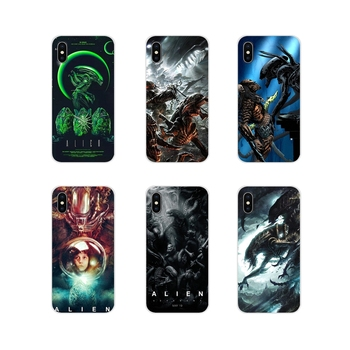 Xenomorph Aliens predato For Apple iPhone X XR XS 11Pro MAX 4S 5S 5C SE 6S 7 8 Plus ipod touch 5 6 Soft Transparent Cases Covers image