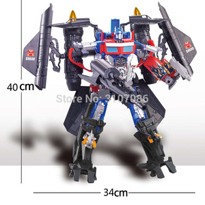 Image 5 - Movie TF Transformation jetfire Vest Fit OP Commander DX9 2in1 Ko Action Figure Robot Toys
