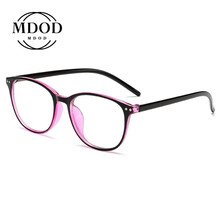 Glasses-Frame Ultralight Round with Degree Finished Myopia-Glasses-0.5-1-1.5-2-2.5-3-3.5-4-4.5-5-6women