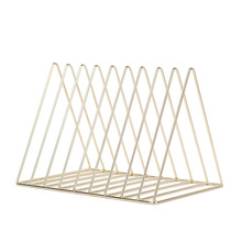 9 Grid File Storage Shelf Book Stand Desktop Wrought Iron File Book Holder Office Desk Storage Book Organizer цена