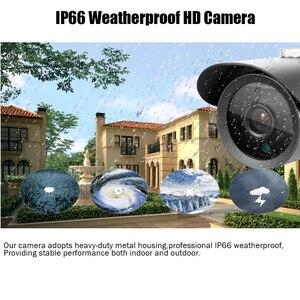 Image 3 - HKIXDISTE חם HD 4MP IMX322 AHD מערכת CCTV AHD מצלמה פנימית/חיצוני עמיד למים קטן מתכת Bullet אבטחת מעקב מצלמה
