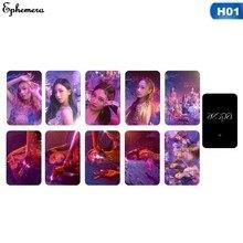 10 Pçs/set AESPA Kpop Photocard Etiqueta Etiqueta Do Cartão De Crédito Cartões de Fotografia Coletivo de Inverno