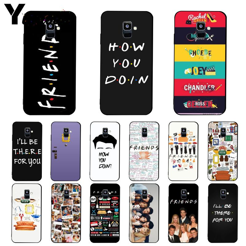 Чехол для телефона Yinuoda friends tv show how you doin для Samsung Galaxy A7 A50 A70 A40 A20 A30 A8 A6 A8 Plus A9 2018