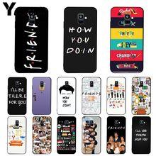 Yinuoda friends tv show how you doin Phone Case For Samsung Galaxy A7 A50 A70 A40 A20